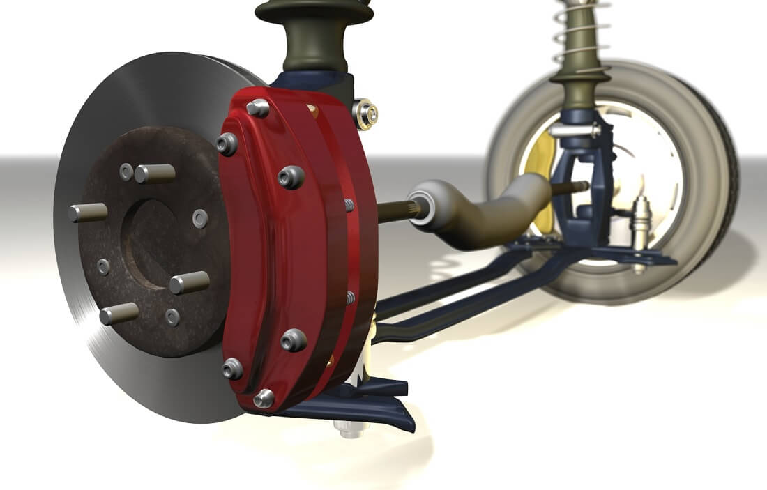 Anti Blockier System Bremse Rad