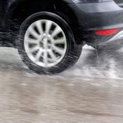 Aquaplaning nasse Straße