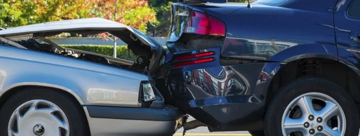 Auffahrunfall zwei Autos