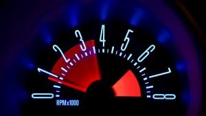 Beleuchtung Auto bleuchtetes Armaturenbrett