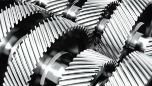 Doppelkupplungsgetriebe Zahnräder Metall