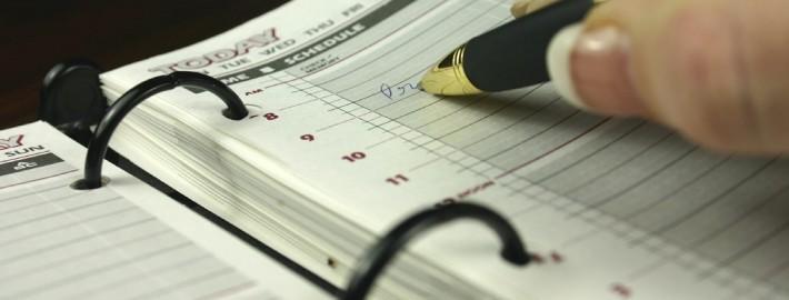 Fahrtenbuch Kalender Eintragung