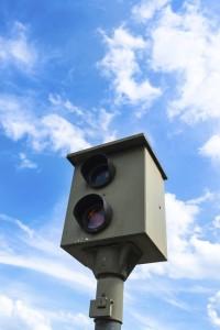 Geschwindigkeitsüberschreitung Radarkontrolle Blitzer