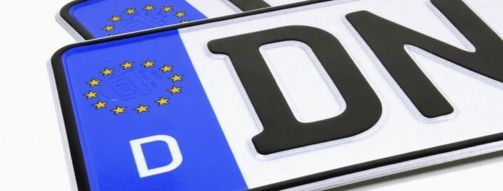 Kennzeichen-Reform deutsches Kennzeichen