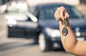 Kfz-Zulassung Schlüssel Auto