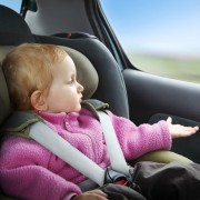 Kindersitz Test Kind angeschnallt