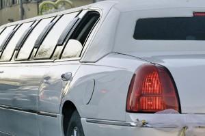 Limousine weiß lang