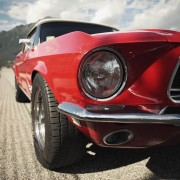 Muscle Cars rotes Auto