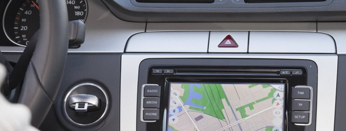 Navigationssystem Auto
