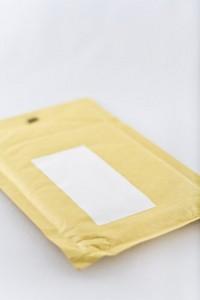 Nummernschild verloren Kuvert Umschlag