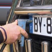 Nummernschild verloren Montage Kennzeichen