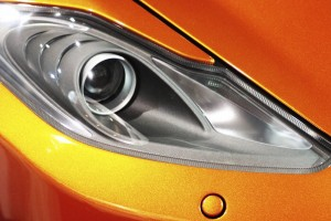 Opel Adam Orange Licht