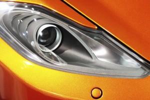 Opel Adam Orange Licht