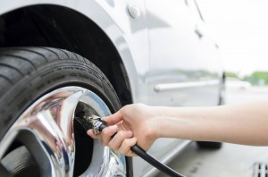 Reifentest Luftdruck prüfen