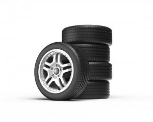 Reifentest fünf Reifen