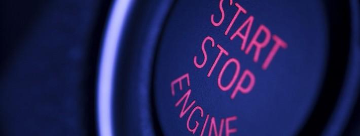 Start Stopp Automatik Button Engine