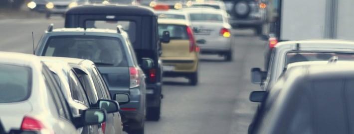 Straßenverkehr Autos Stau