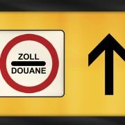 Zollkennzeichen Zollhinweis Schild