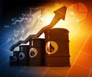 Animation. steigende Benzinpreise