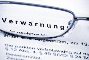 Verwarnung für Falschparker