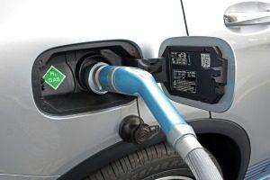 Tankvorgang beim Erdgasauto