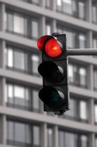 rote Ampel überfahren rote Ampell